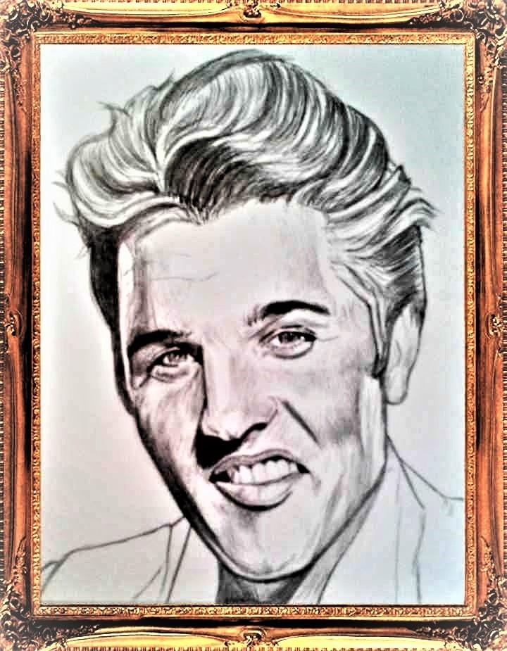 Elvis Presley por RobCrandall